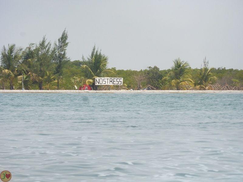 "A ilha ""Sem Stress"" em Dionewar"