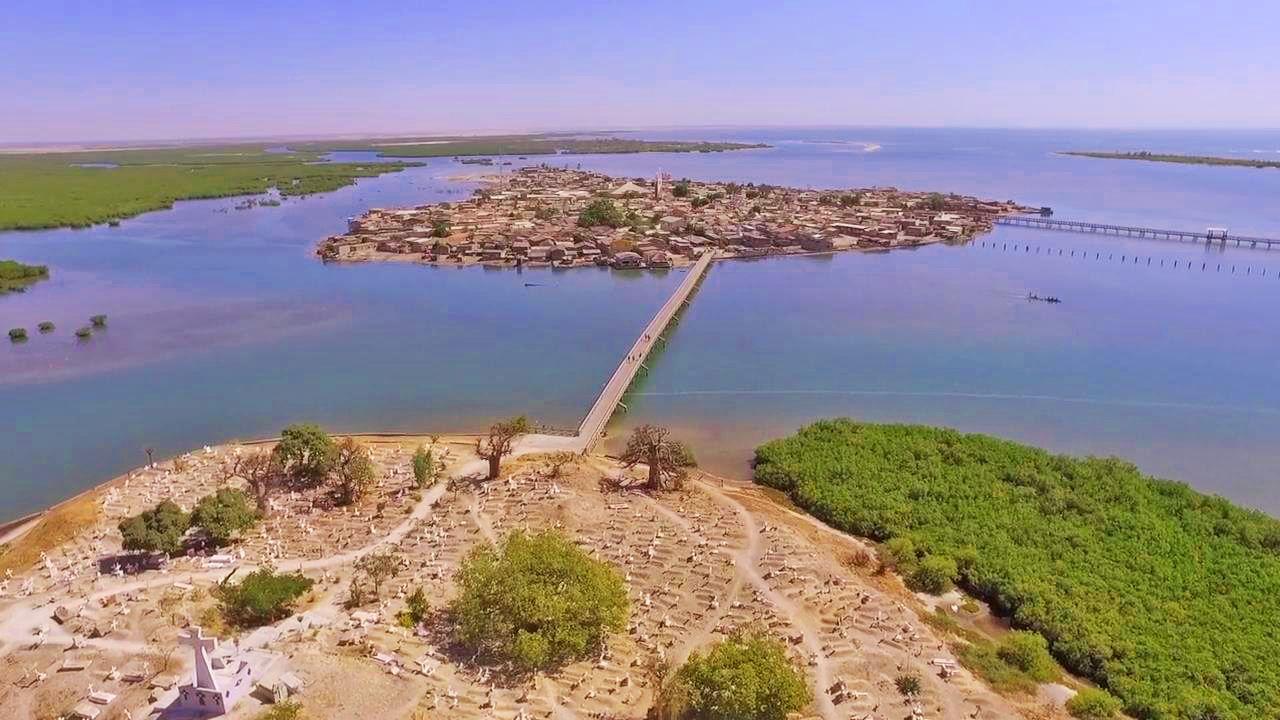 Fadiouth, le plus beau village du Sénégal pittoresque